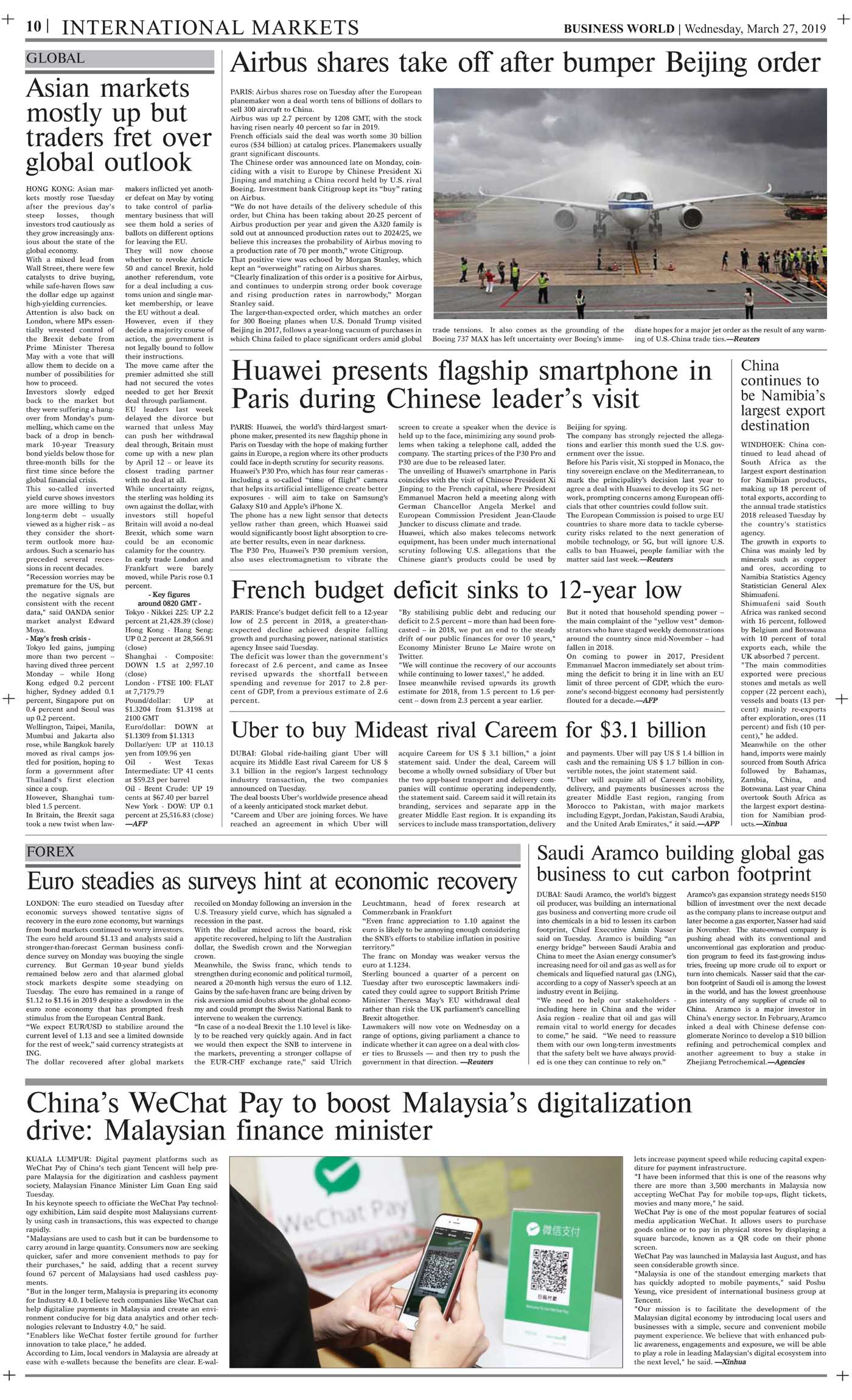 Daily Business World E-Paper 27th March 2019 - Daily