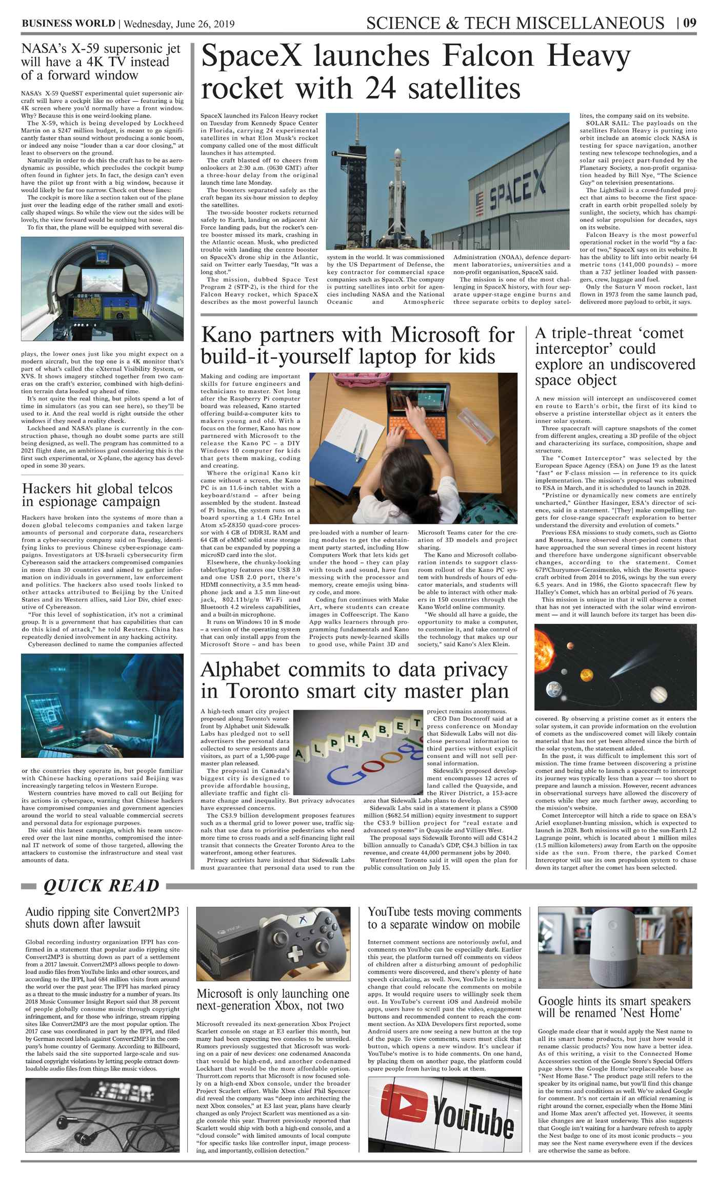 Daily Business World E-Paper 26th June 2019 - Daily Business